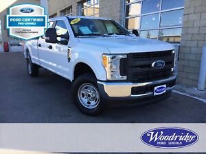 2017 Ford F-350 XL CERTIFIED PRE-OWNED, 6.2L V8, SYNC BLUETOOTH