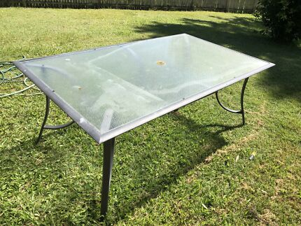 FREE.....BBQ & Glass outdoor table
