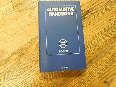 1980's BOSCH AUTOMOTIVE AUTO HANDBOOK FACTORY SHOP SERVICE MANUAL