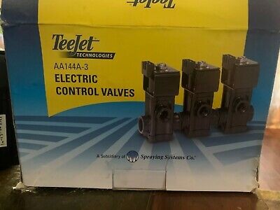Aa144a-3 Teejet Electric Control Valves