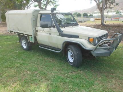 1989 Toyota LandCruiser Pimlico Townsville City Preview