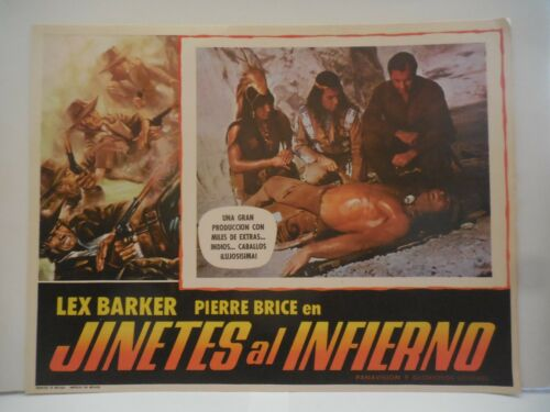 JINETES AL INFIERNO, SET OF 8 ORIGINAL LOBBY CARDS