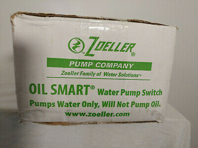 Zoeller 10-1526 Oil Smart Water Pump Switch Alarm-h W Lights