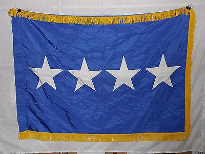 flag793 Vietnam era US Air Force 4 Star Full General fringe US Flag & Signal Co