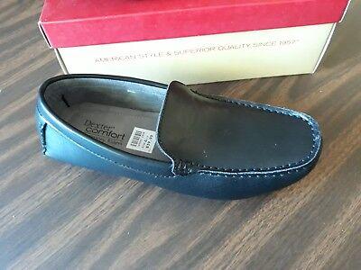 Dexter Men's/Youth Size 6 1/2 Black Comfort Memory Foam Loafer Slide on Shoes