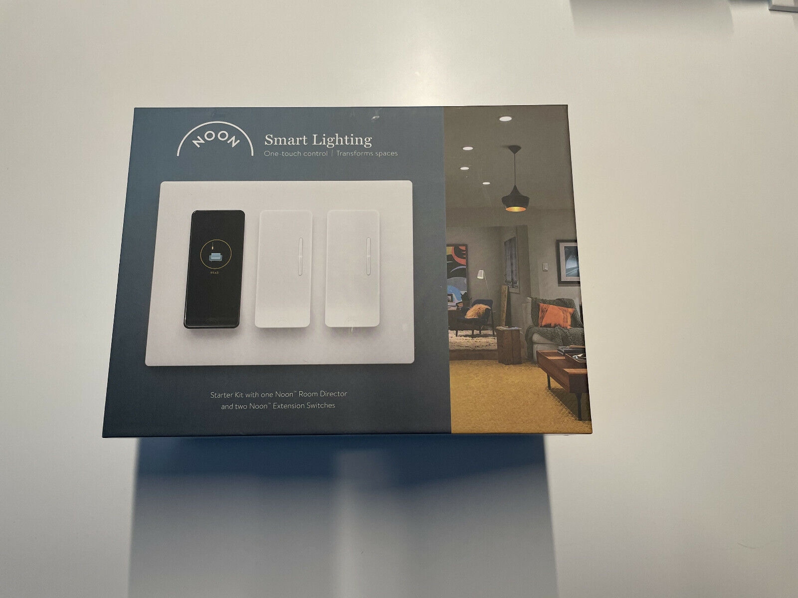 Noon Smart Lighting Kit 3 Switches 1 Additional Switch Various Wall Plates - $275.00