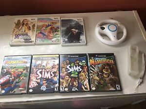 Wii and gamecube games!!