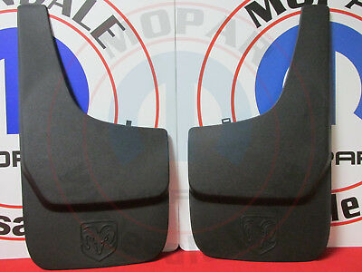 DODGE RAM DAKOTA NITRO DURANGO 4X4 Set Of Front OR Rear Flat Splash Guards MOPAR