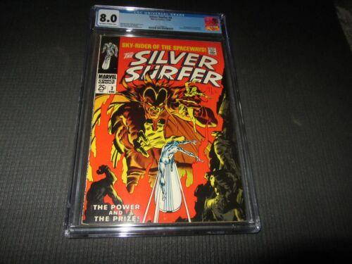 Silver Surfer 3 CGC 8.0 VF, 1st Mephisto (Marvel 1968)