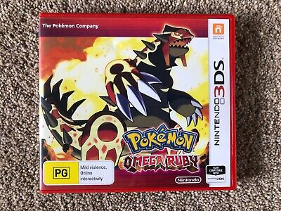 Pokémon Omega Ruby Nintendo 3DS Video Game In Original Case Very Good