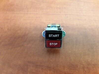 Idec 23-010 Startstop Button Used With New Idec Contactor Body Bs-010