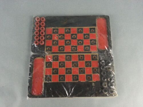 1910 Antique Checkers