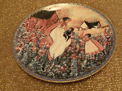 P. Buckley Moss MOTHERS LOVE Anna Perenna Art Plate Annual Mothers Day Series #2 for sale  Douglasville