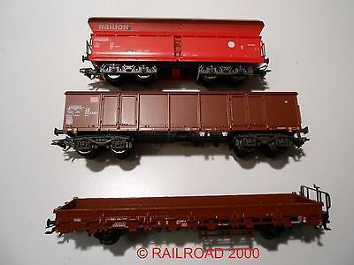 Märklin - Güterwagenset der DB, 3-teilig, aus 29841, NEU