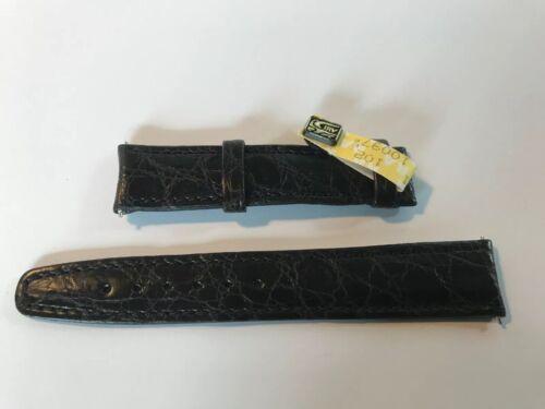 IWC Krokoband schwarz 18mm