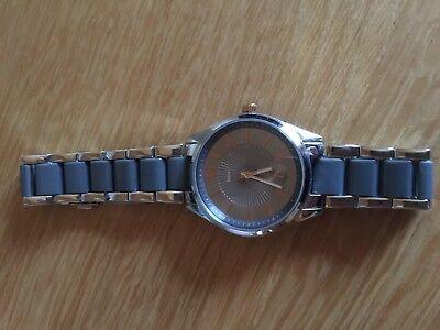 Edelstahl Armbanduhr von Tchibo