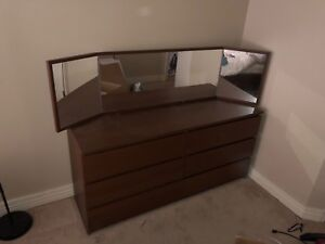 Bed side unit drawers