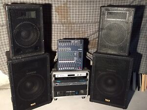 Small PA System (Good for DJ/Small Events) OBO