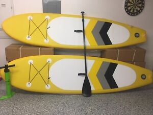 SUP gonflabe 10,6' neuf ensemble complet surf à pagaie