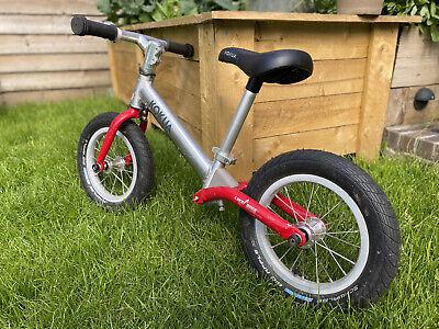 Kids Balance Bike Like a bike Kokua Alloy Frame Red/silver Comes As Photos Show