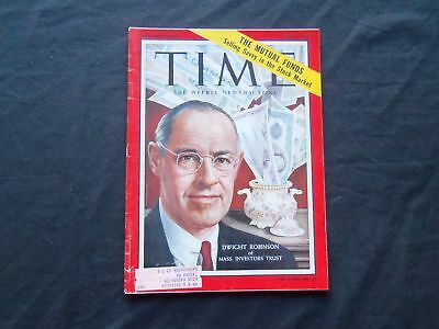 1959 June 1 Time Magazine   Dwight Robinson  Mass  Investors Trust   T 1692