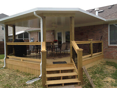 20x34 Insulated Aluminum Patio Cover Kit-top Only
