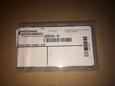 Ni National Instruments Pcmcia Gpib Card 182361d-01