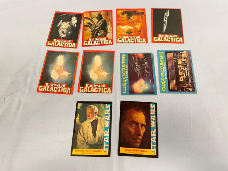 Wonder Bread Card Lot of 10 Star Wars Battlestar Galactica Close Encounters