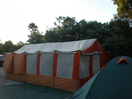 Large family canvas tent in good condition & canvas tent in Victoria | Gumtree Australia Free Local Classifieds