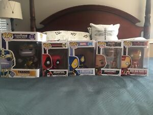Marvel bobble-head collectibles