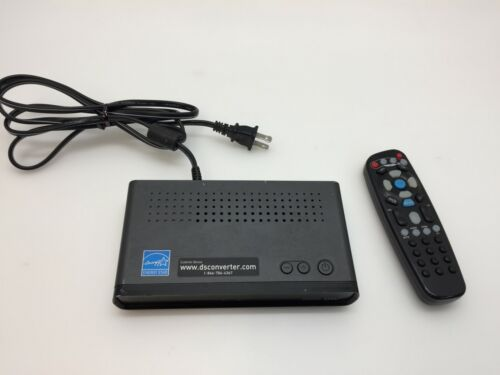 Digital Stream DTX9950 Converter Box with Remote Control