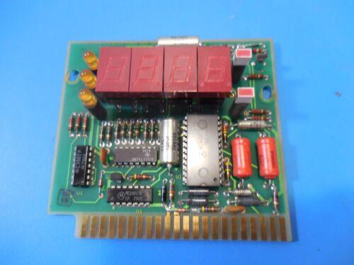 Vintage 4-Digit Digital Display Card 52542 ASSY # 05754401