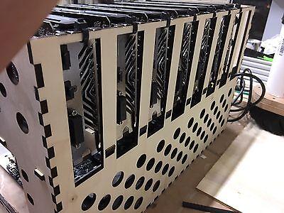 The Unique Rig - Open Air Mining Rig Frame Case 6/7/8/9 GPU ETH ZEC BTC