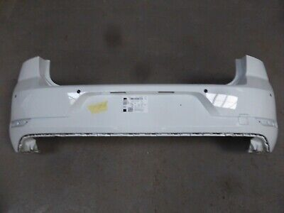 GENUINE VW GOLF MK7.5 FACELIFT PURE WHITE REAR BUMPER  SHELL TO FIT 2017 ON