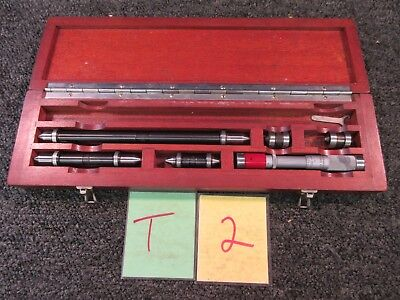 Ls Starrett Brown Sharpe Gage Inside Micrometer Machinist Mill Inspection