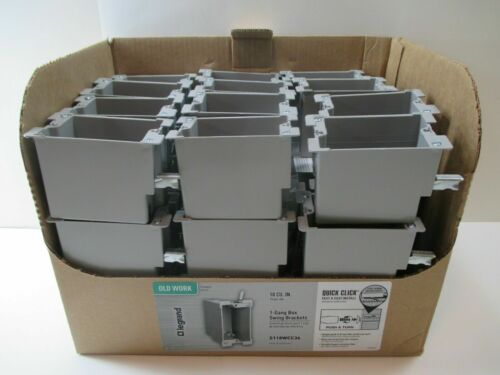 36 PACK Legrand-Slater 1-Gang 18 CU. IN. Old Work Electrical Switch & Outlet Box