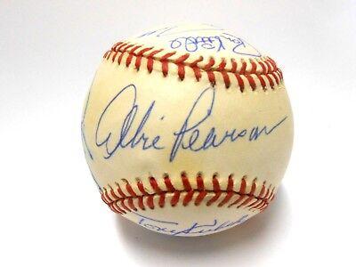 "Mark ""The Bird"" Fidrych Luis Aparicio Rookie of Year Signed Autographed Baseball"