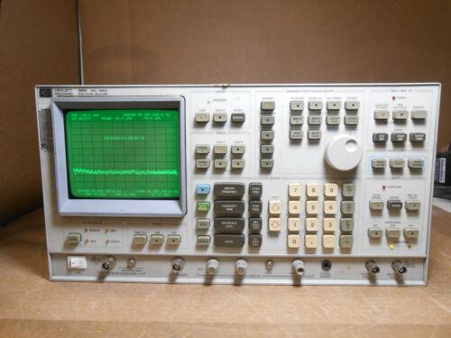 HP 3585B 20Hz-40MHz SPECTRUM ANALYZER