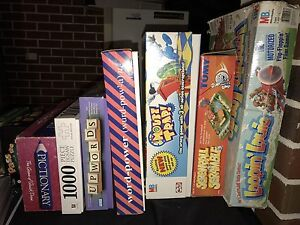 Assorted board games Pearsall Wanneroo Area Preview