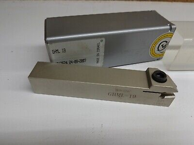 Iscar Ghml-19 Indexable Grooving Lathe Tool Holder Stk077