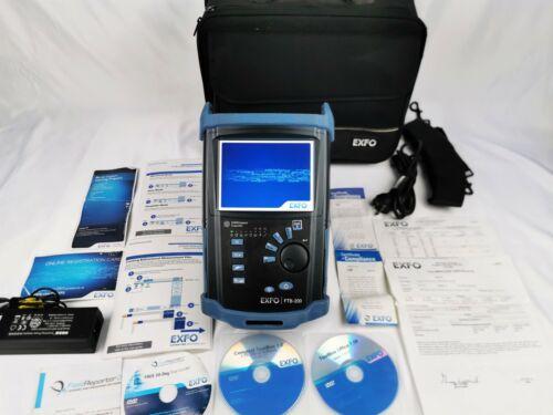EXFO FTB-200 V2 1310/1550/1625nm Live OTDR FTB-7300E-23B SM Module VFL FTB200