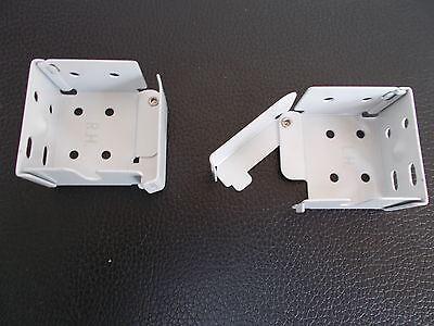 Madera Persiana Veneciana Metal Abrazaderas Para 41mm x 37mm Top Vía White...