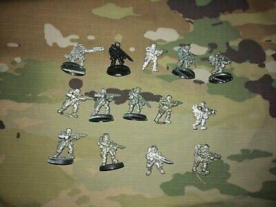 14 Inquisitorial Stormtroopers Squad Metal OOP Inquisition Astra Militarum 40k