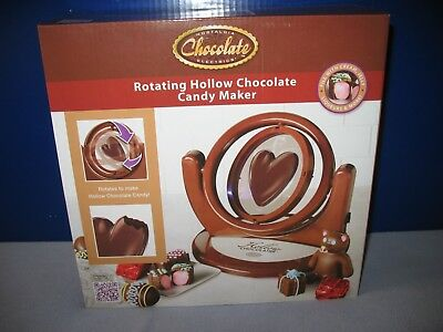 Nostalgia Chocolate Electrics Rotating Hollow Chocolate Candy Maker - Brand New