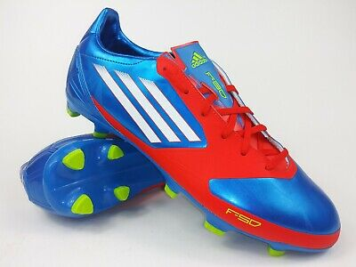 cfb12ce1316f Adidas Mens Rare F30 TRX FG Syn V24847 Blue Red Soccer Cleats Boots Size 10