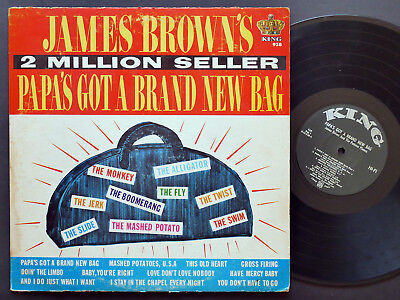 JAMES BROWN Papa's Got A Brand New Bag LP KING RECORDS 938 US 1965