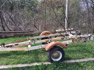 "Boat Trailer - Rollers - for 18"" boat"