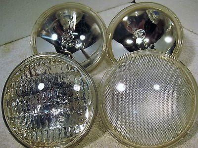 4 -12 volt sealed beam tractor or spotlight bulbs Beam 12 Volt Spotlight