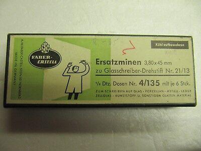 Faber Castell , Ersatzminen zu Glasschreiber , Drehstift Nr. 21 / 13 , 34 Stück gebraucht kaufen  Henstedt-Ulzburg