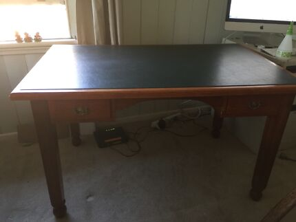 Antique Desk in good condition - Desk In Brisbane Region, QLD Antiques, Art & Collectables